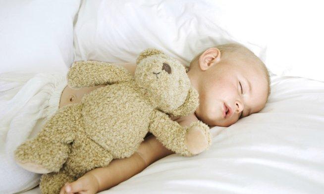 Сон ребенка в 4 месяца