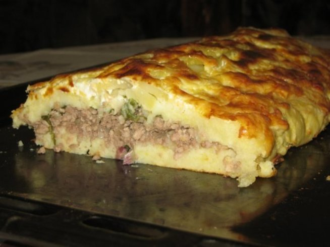 Полезные рецепты для кормящей мамы: «Мясная запеканка»