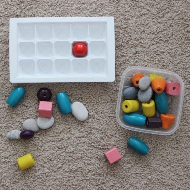Игры с формочками для льда