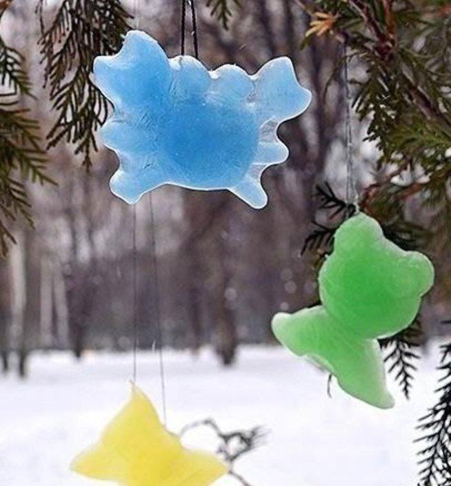 Ледяные подвески