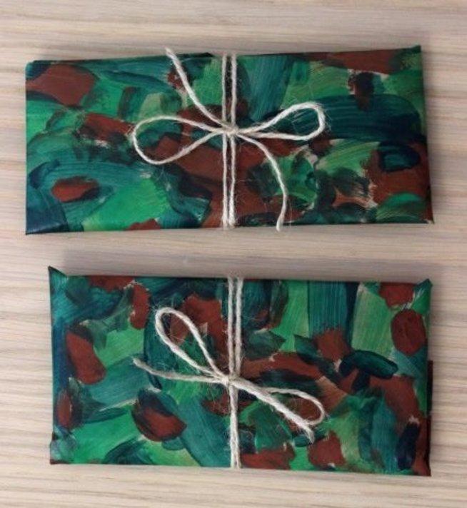 Подарок на 23 февраля: упаковка своими руками