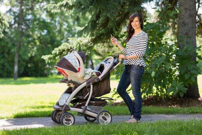 Прогулки четырехмесячного малыша