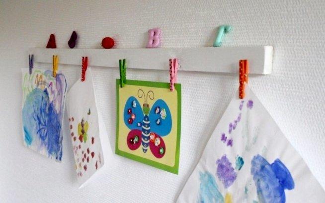 Выставка шедевров малыша