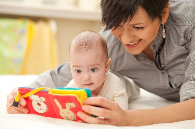 Sensory book for your baby