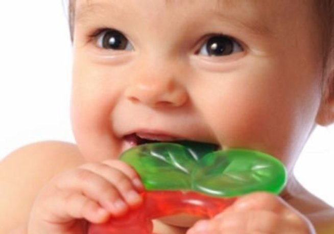 Детское зубное кольцо