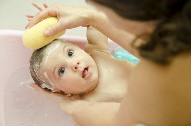 Тактильные игры в ванне