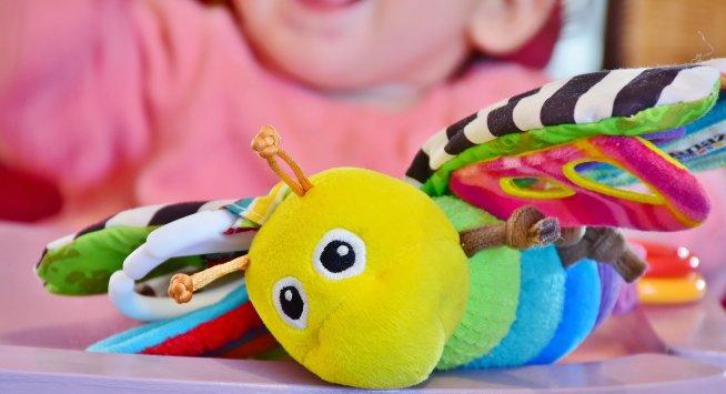 Любимые игрушки вашего малыша