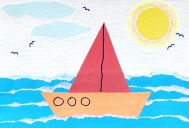 An Applique Ship