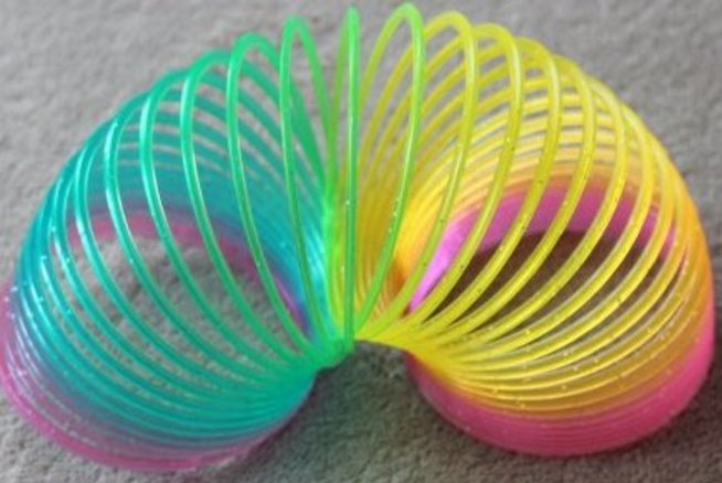 Слинки - забавная игрушка