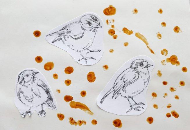 Угощение для птичек