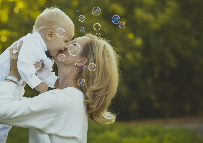 Общайтесь с малышом, понятным ему языком