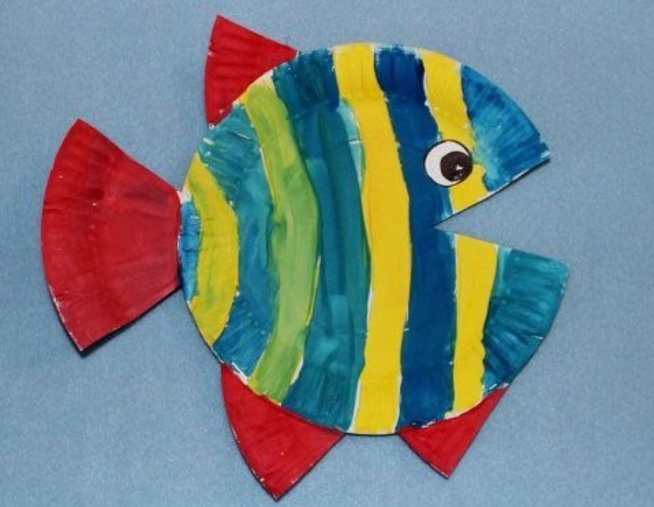 Make marine creatures with your child