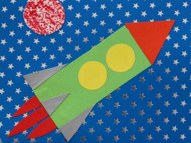 """Applique """"The Rocket"""""""