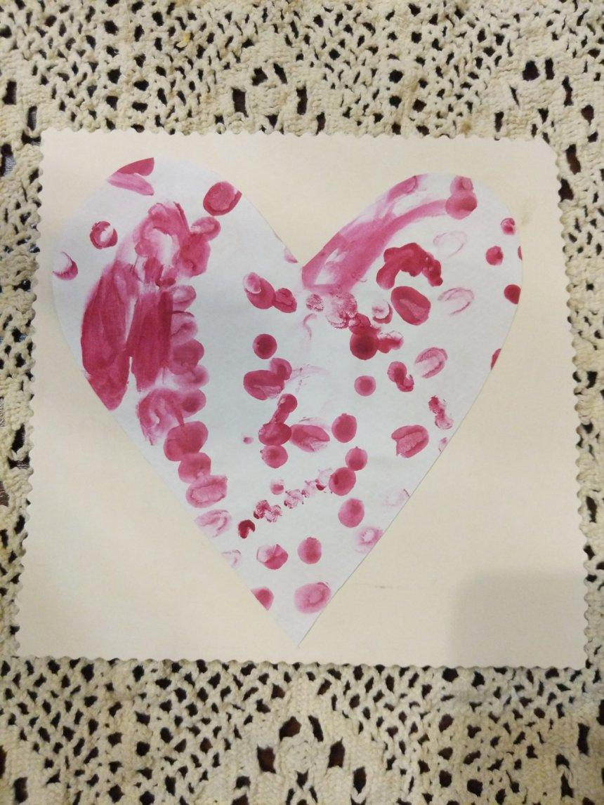 Отчёт по занятию Маленькие открытки с сердечками в Wachanga!