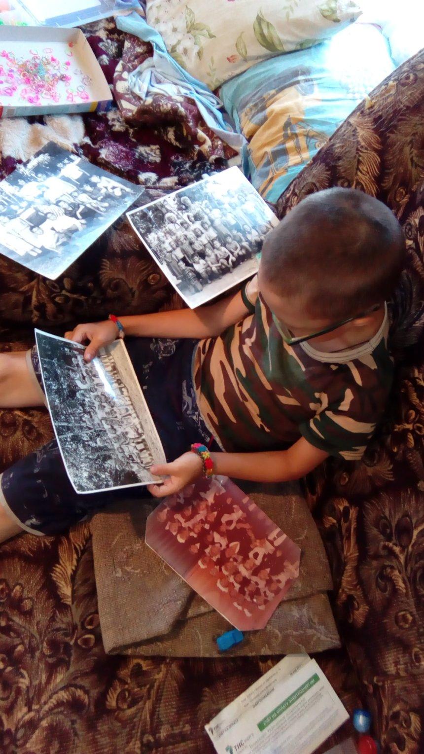 Отчёт по занятию Посмотрите с детьми старые фотоальбомы в Wachanga!