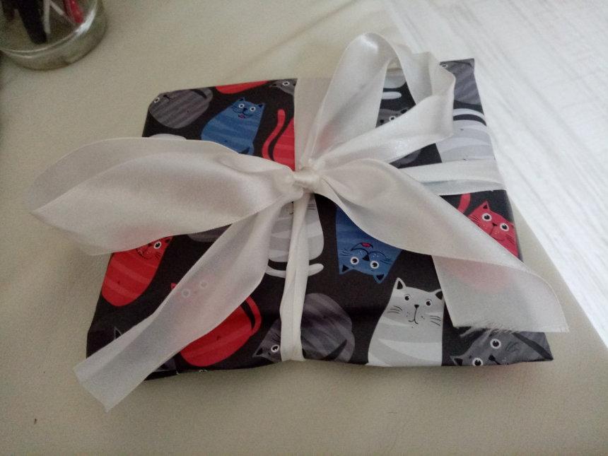 Отчёт по занятию Сладкий подарок к празднику (как упаковать плитку шоколада) в Wachanga!