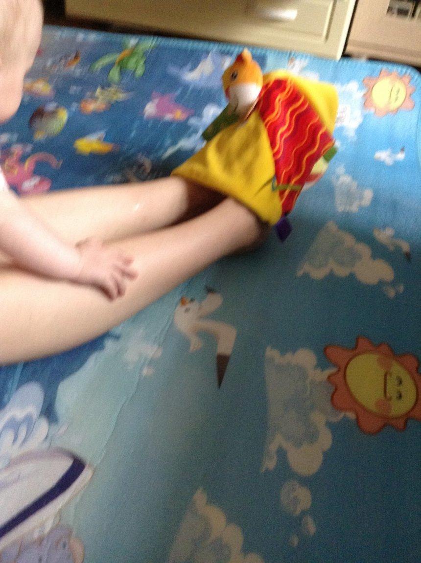 Отчёт по занятию Игры с куклой-рукавичкой в Wachanga!