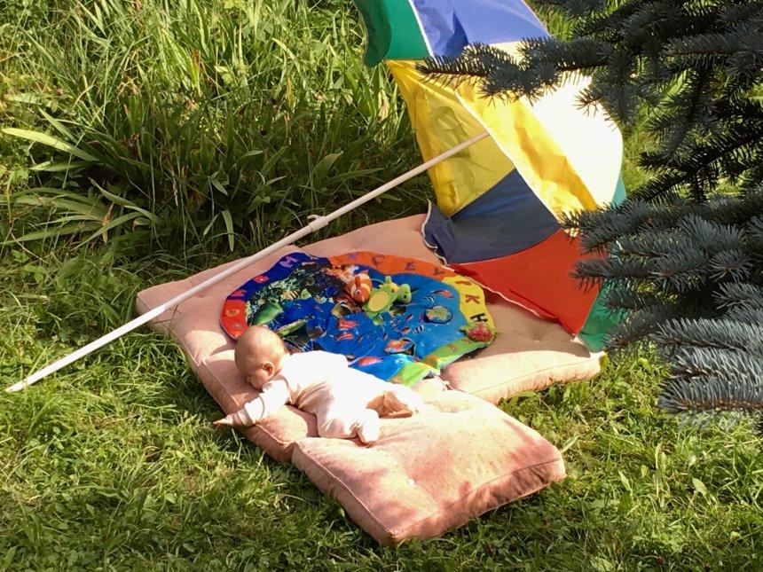 Отчёт по занятию Можно ли малышу загорать в Wachanga!
