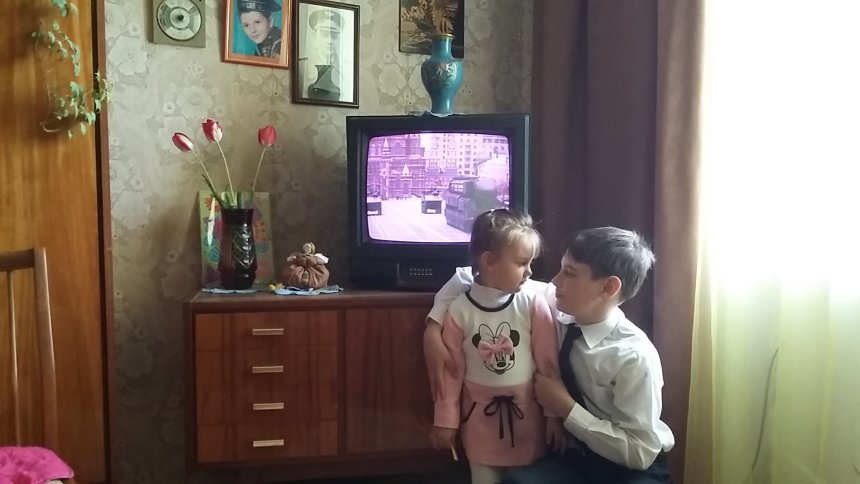 Отчёт по занятию Посмотрите по телевизору парад Победы  в Wachanga!