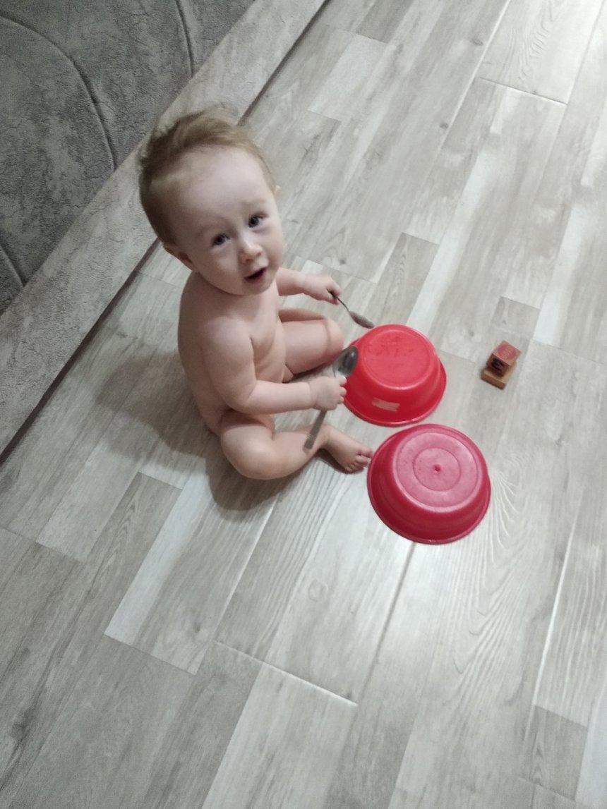 Отчёт по занятию Поиграйте с малышом в игру «Стукнем друг о друга» в Wachanga!