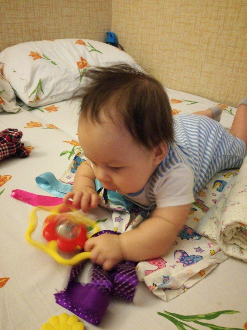 Отчёт по занятию «Колечки» для самых маленьких в Wachanga!