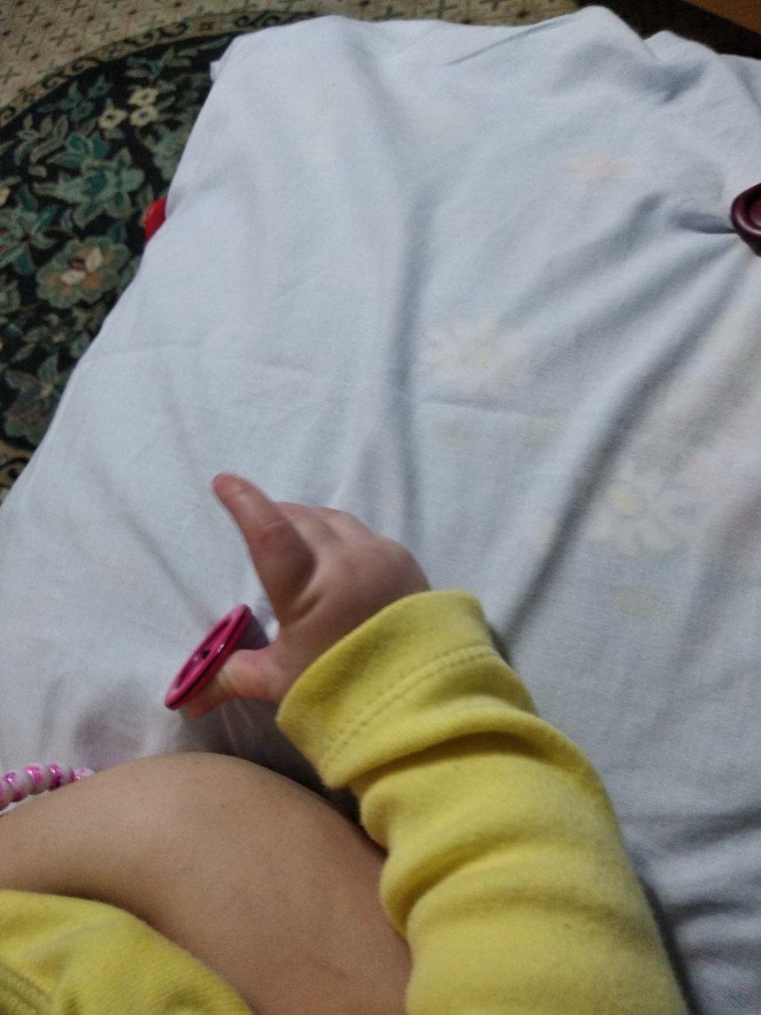 Отчёт по занятию Развивающая подушка для крохи в Wachanga!
