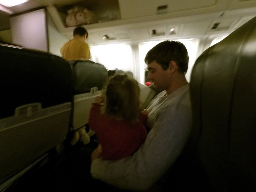 Отчёт по занятию Как успокоить ребёнка в самолёте в Wachanga!