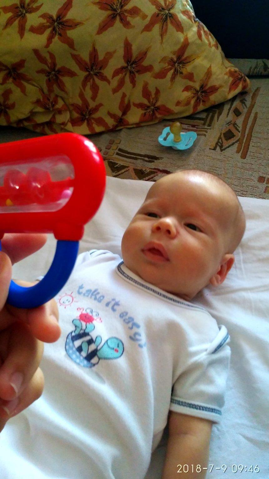 Отчёт по занятию Развиваем зрение с рождения в Wachanga!