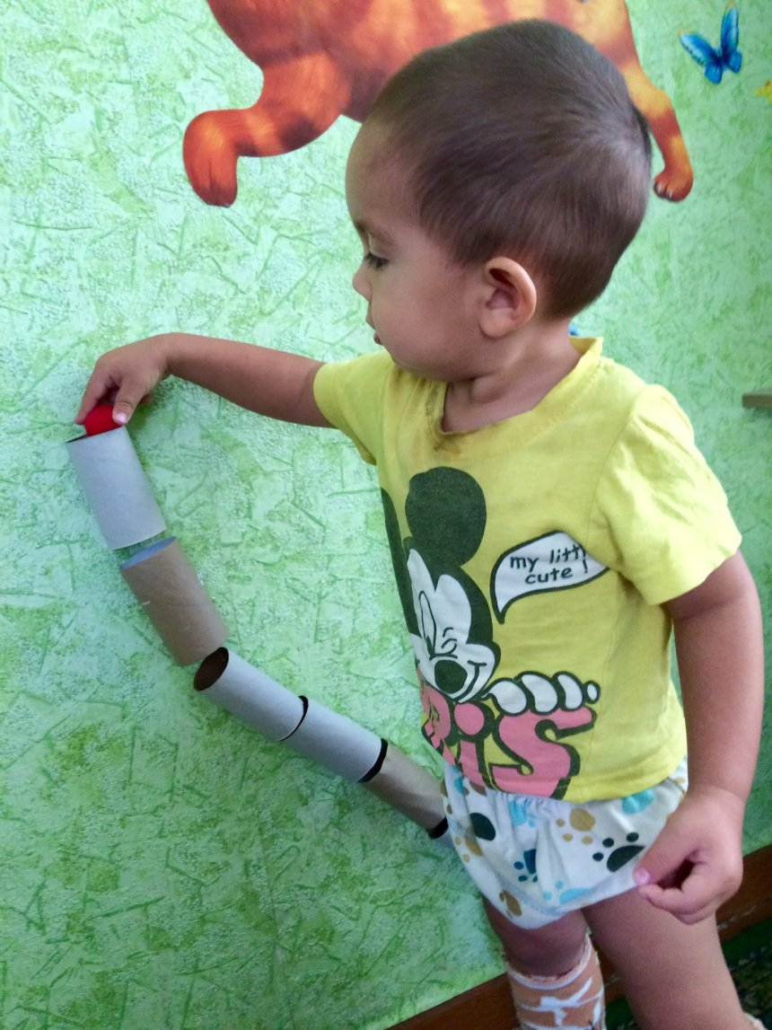 Отчёт по занятию Трубопровод для игрушек в Wachanga!