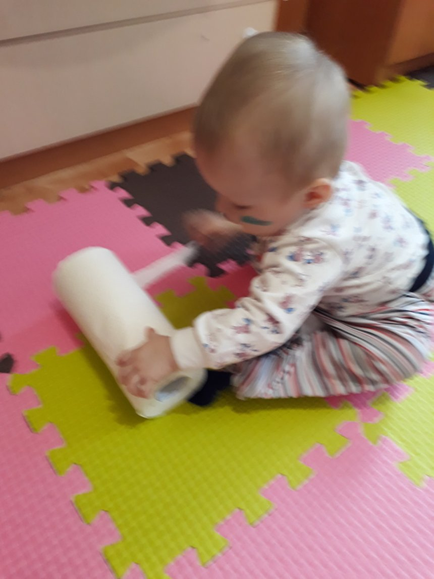 Отчёт по занятию Игры с бумажными полотенцами в Wachanga!