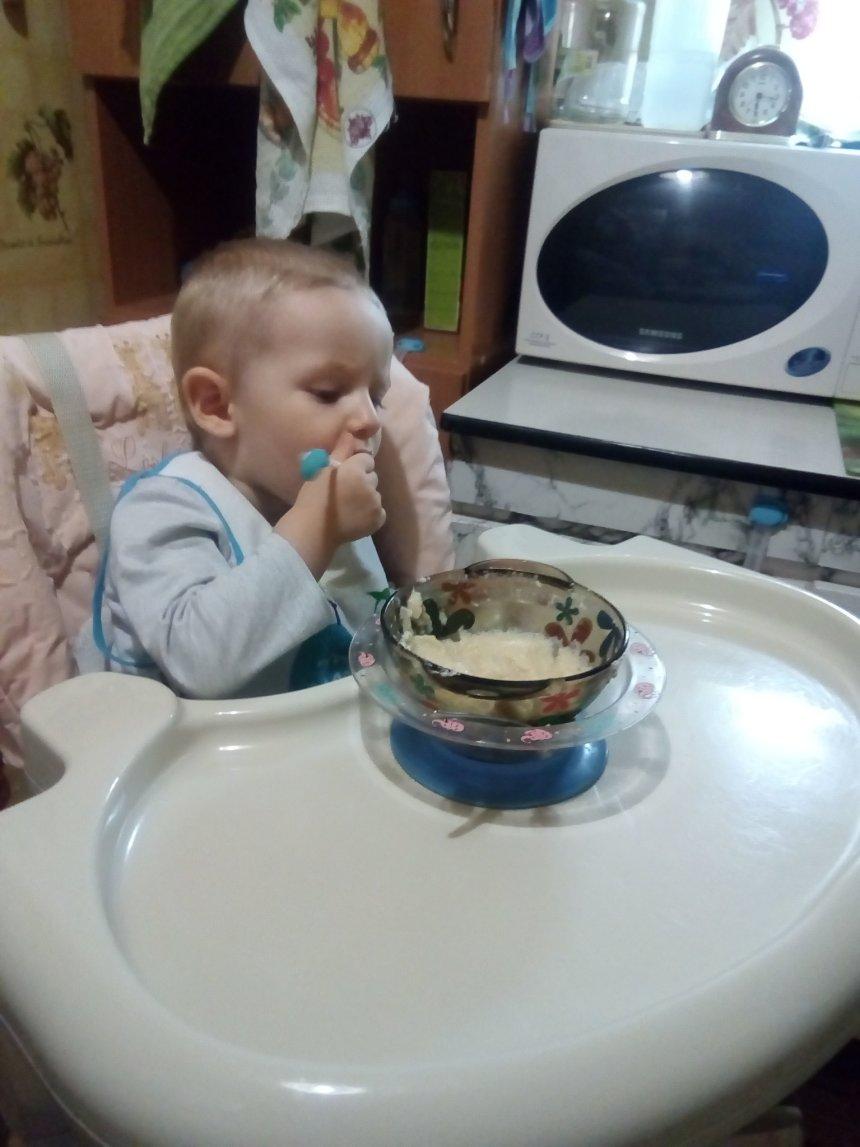 Отчёт по занятию Картофельное пюре для малыша в Wachanga!