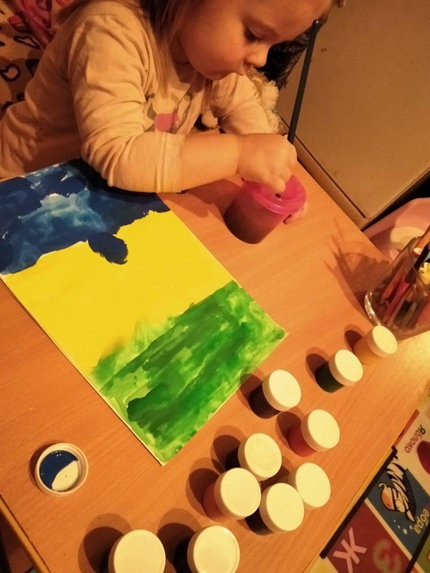 Отчёт по занятию Красочный салют в Wachanga!