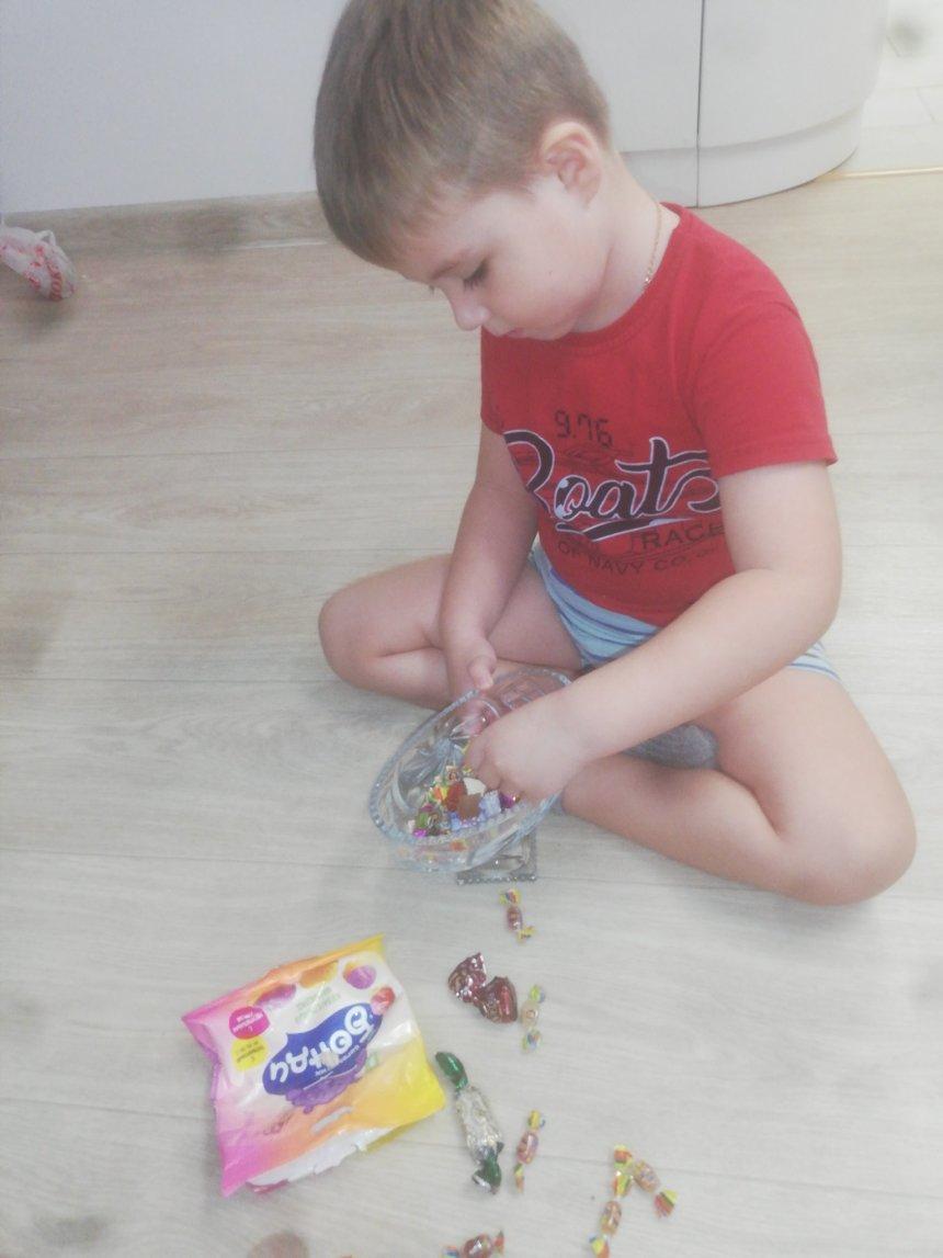 Отчёт по занятию Предложите ребенку поиграть с пинцетом в Wachanga!