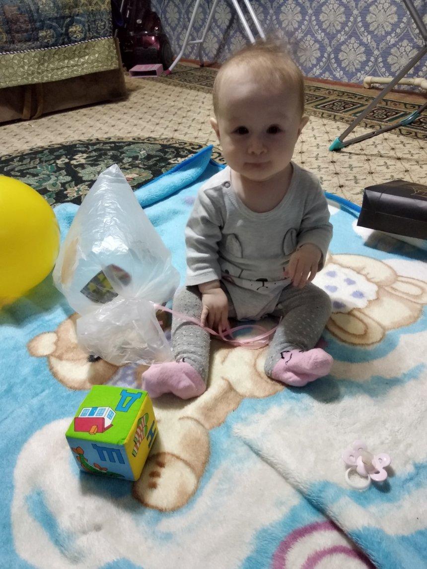 Отчёт по занятию Сделайте для малыша игрушку из полиэтиленового пакета в Wachanga!