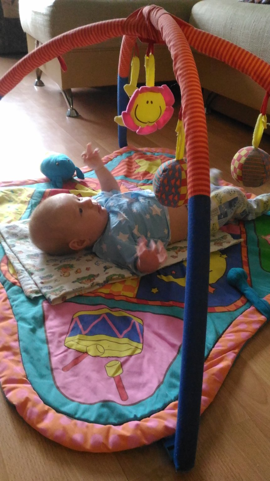 Отчёт по занятию Развивающие игры с малышом в Wachanga!