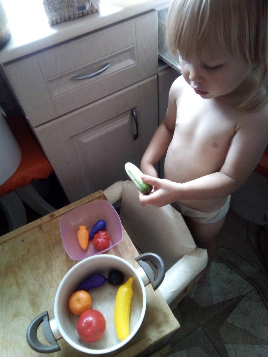 Отчёт по занятию Овощи и фрукты в Wachanga!
