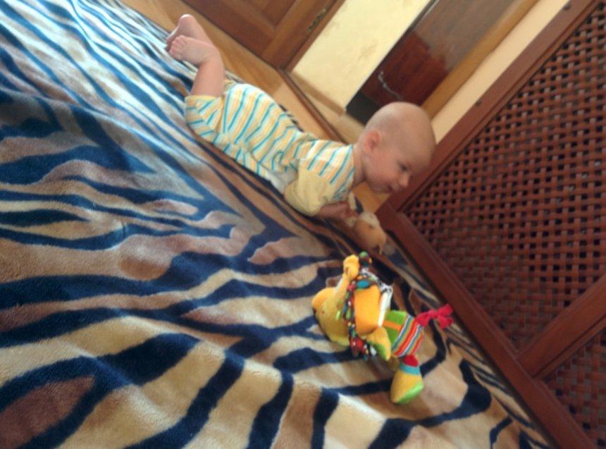 Отчёт по занятию Малыш в шезлонге в Wachanga!