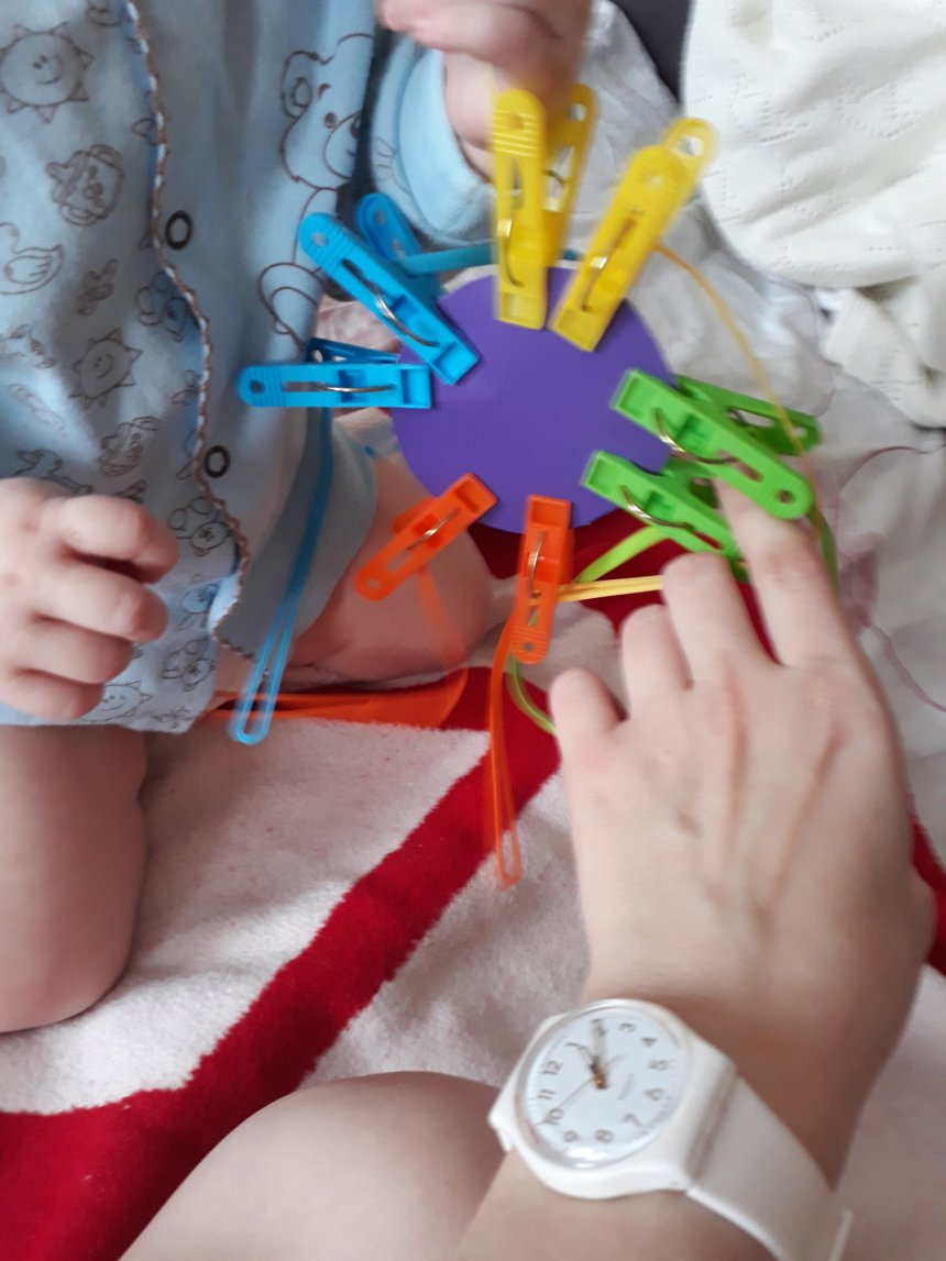 "Отчёт по занятию Развивающая игрушка ""Репка"" в Wachanga!"