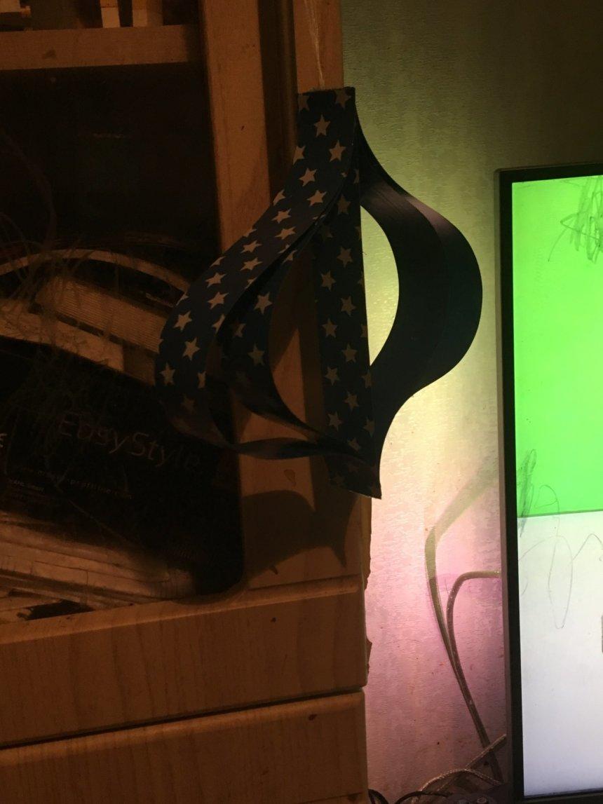 Отчёт по занятию Ёлочные украшения из бумаги в Wachanga!