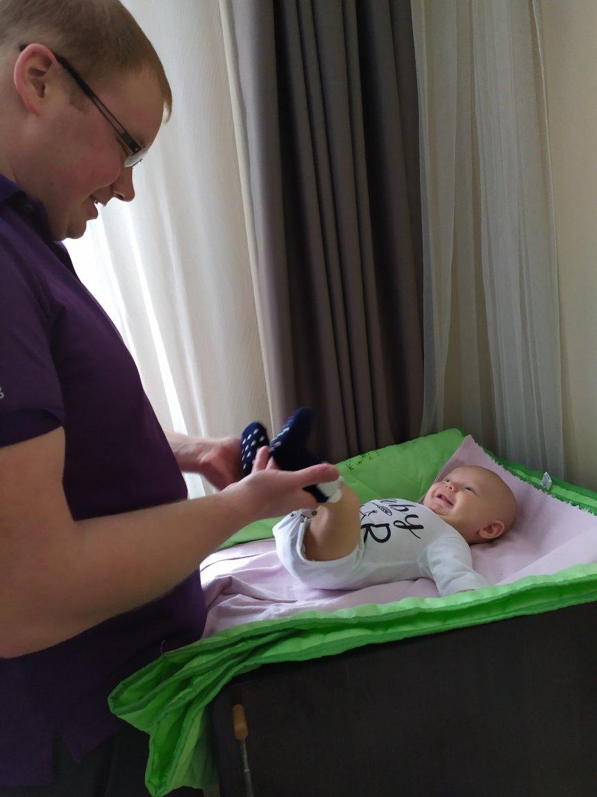 Отчёт по занятию Как одевать малыша дома в зимний период в Wachanga!