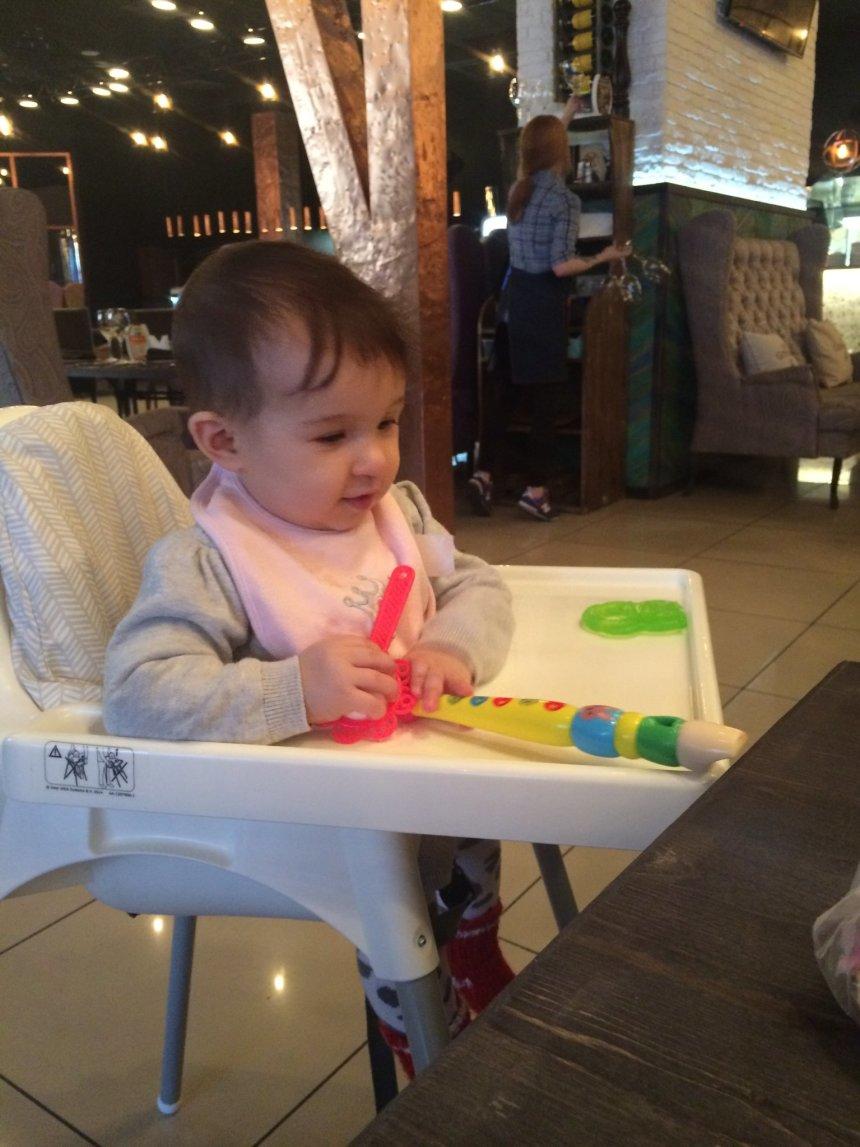 Отчёт по занятию Возьмите с собой игрушки в кафе в Wachanga!