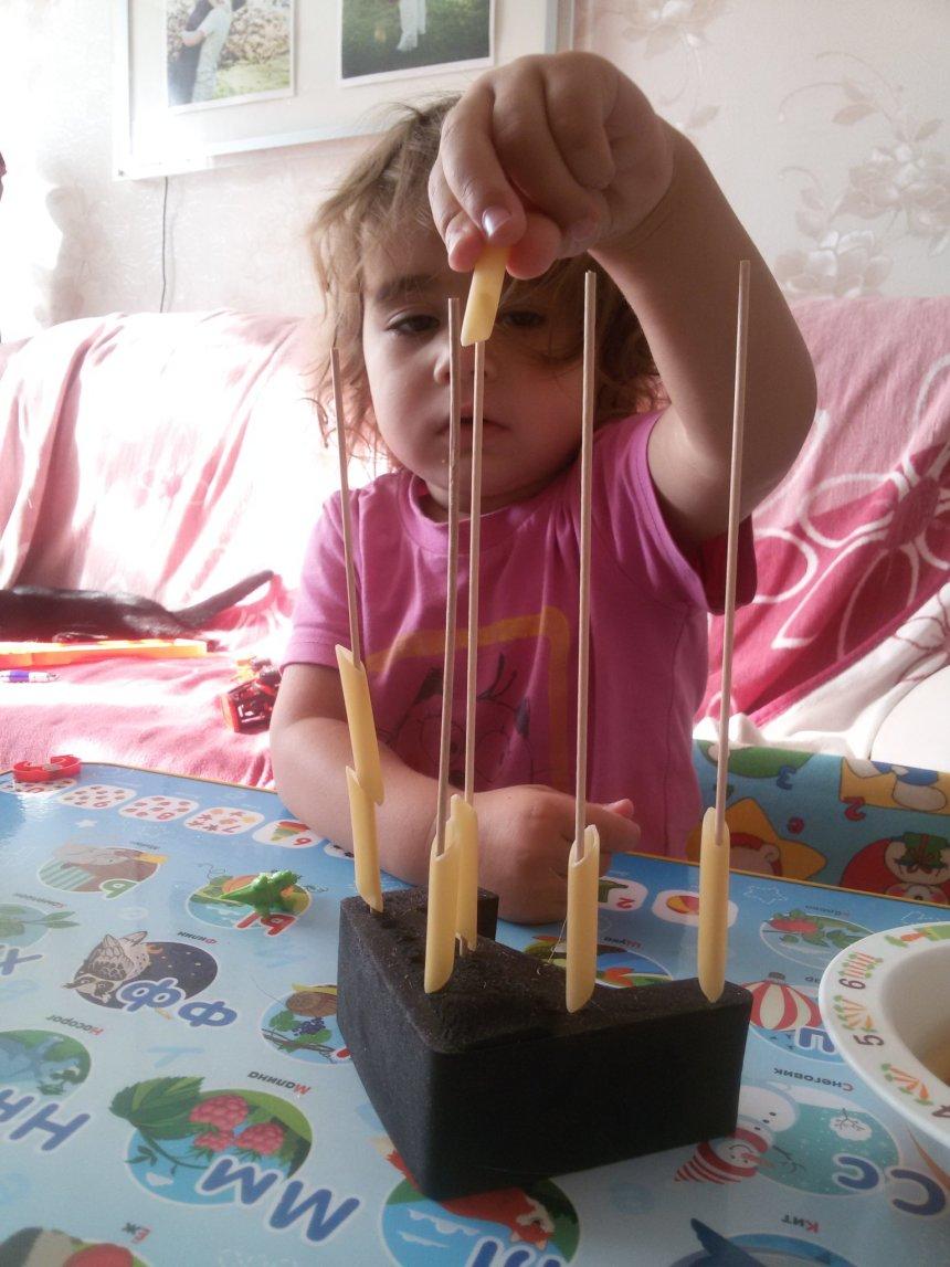 Отчёт по занятию Поиграйте с макаронами в Wachanga!