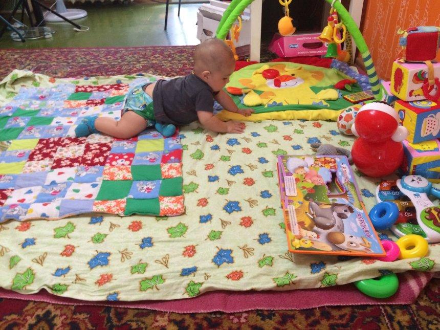Отчёт по занятию Предоставьте малышу простор для деятельности в Wachanga!