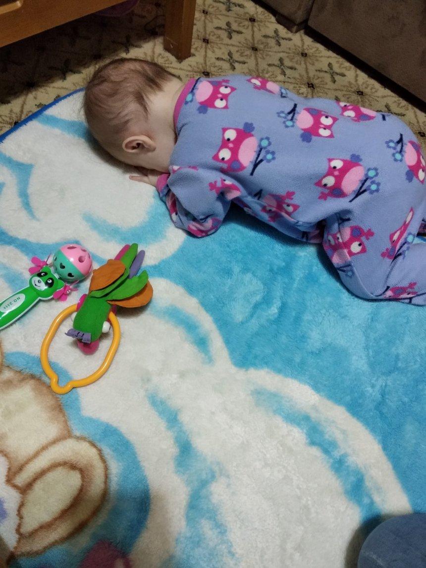 Отчёт по занятию Что может ребенок в семь месяцев в Wachanga!