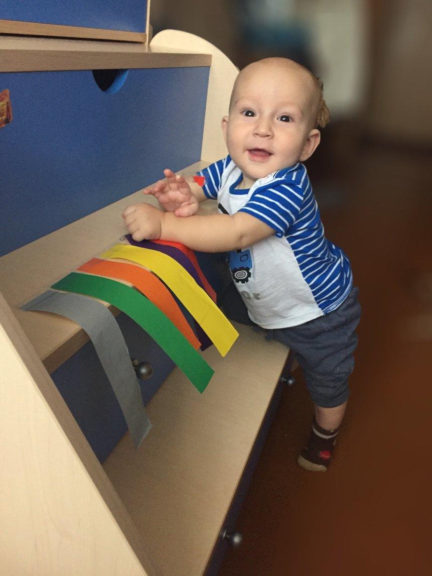 Отчёт по занятию Поиграйте с малышом в игру «Отрывайся!» в Wachanga!