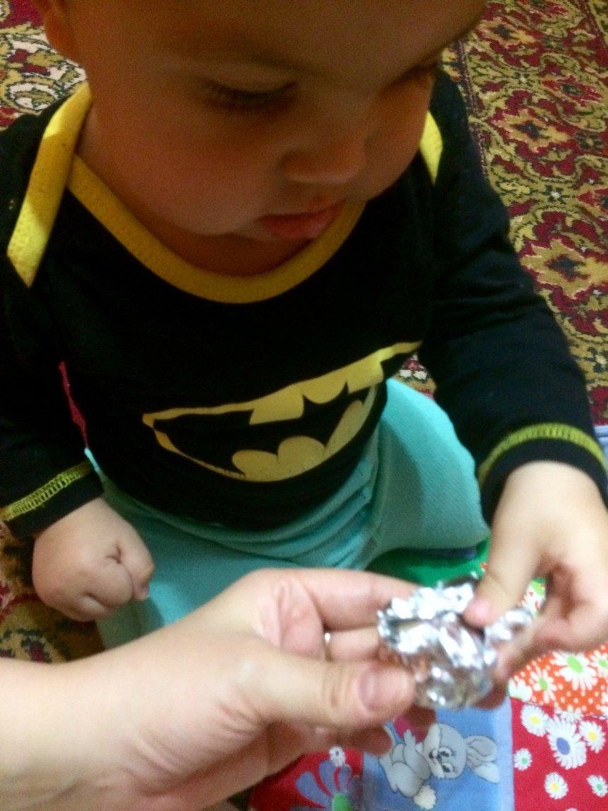 Отчёт по занятию Поиграйте с малышом в игру «Орешки» в Wachanga!