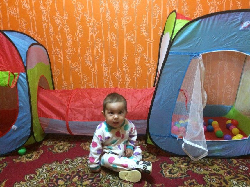 Отчёт по занятию Домик-палатка с туннелем в Wachanga!