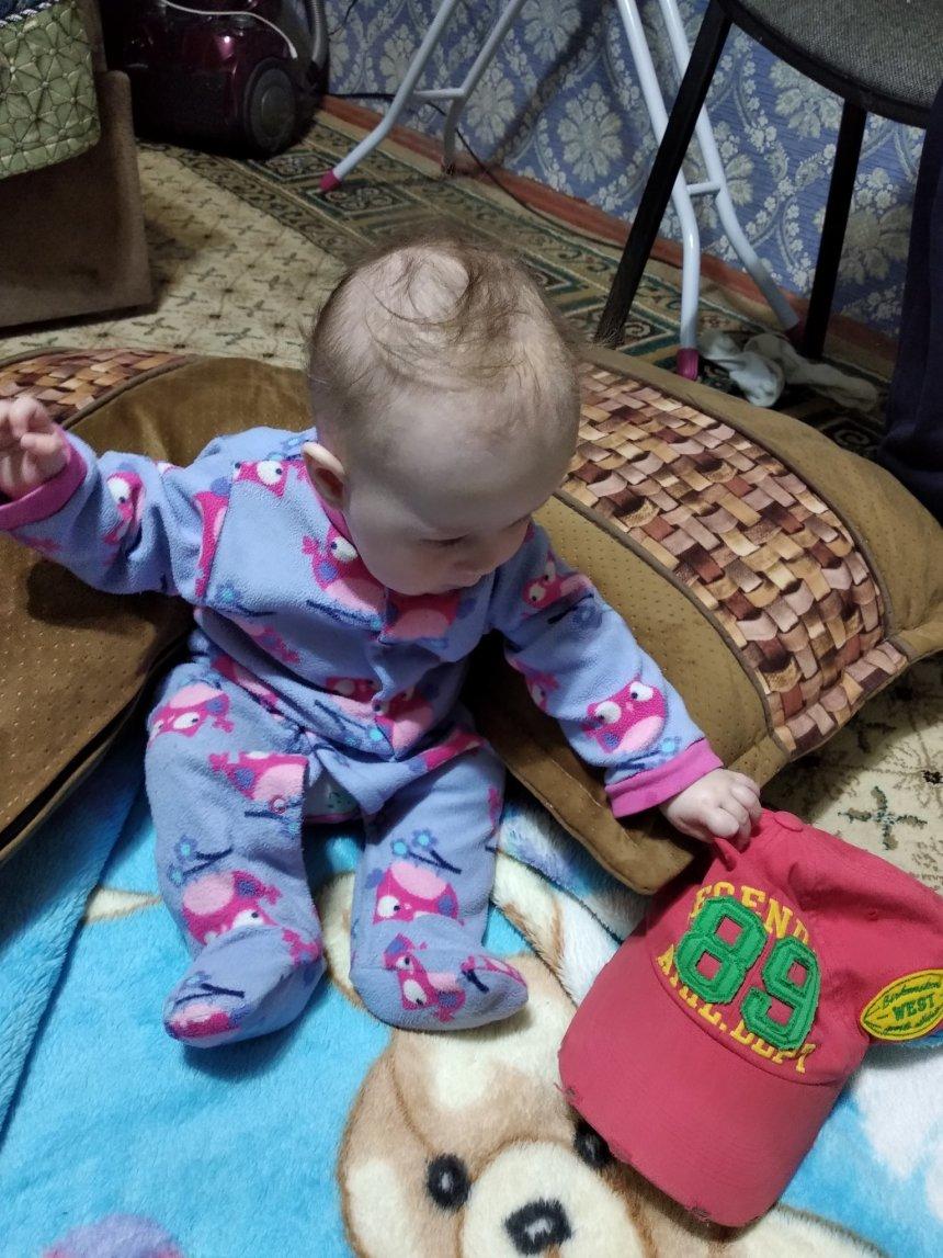 Отчёт по занятию Поиграйте с малышом в игру «Снимаем шляпы» в Wachanga!