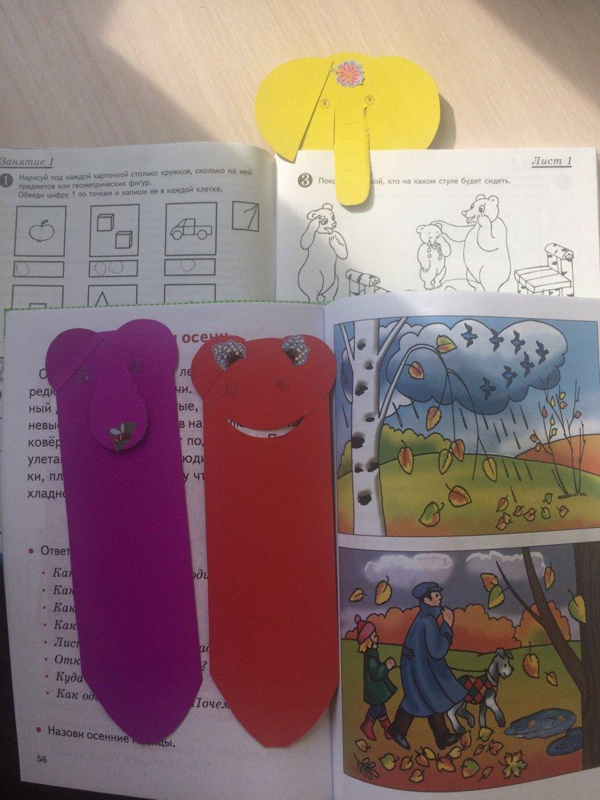 Отчёт по занятию Закладки для книг «Веселые инопланетяне» в Wachanga!