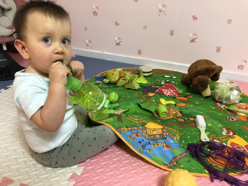 Отчёт по занятию Цветная неделька для малыша в Wachanga!